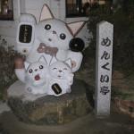 めんくい亭さん:滋賀県にある美味しいラーメン屋さんに看板娘ならぬ、看板猫をお届けしました。