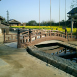 二十四の瞳映画村:太鼓橋の製作・施工