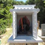 土庄町 石づち神社:不動明王様のお社の製作・施工