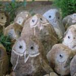 小豆島土産「島ふくろう」 一つ一つ個性豊かな顔ぶれ。