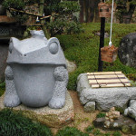 石好きなご夫婦のお宅のお庭をお作りしました。