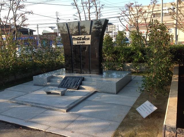 記念碑の製作 インド黒・御影石