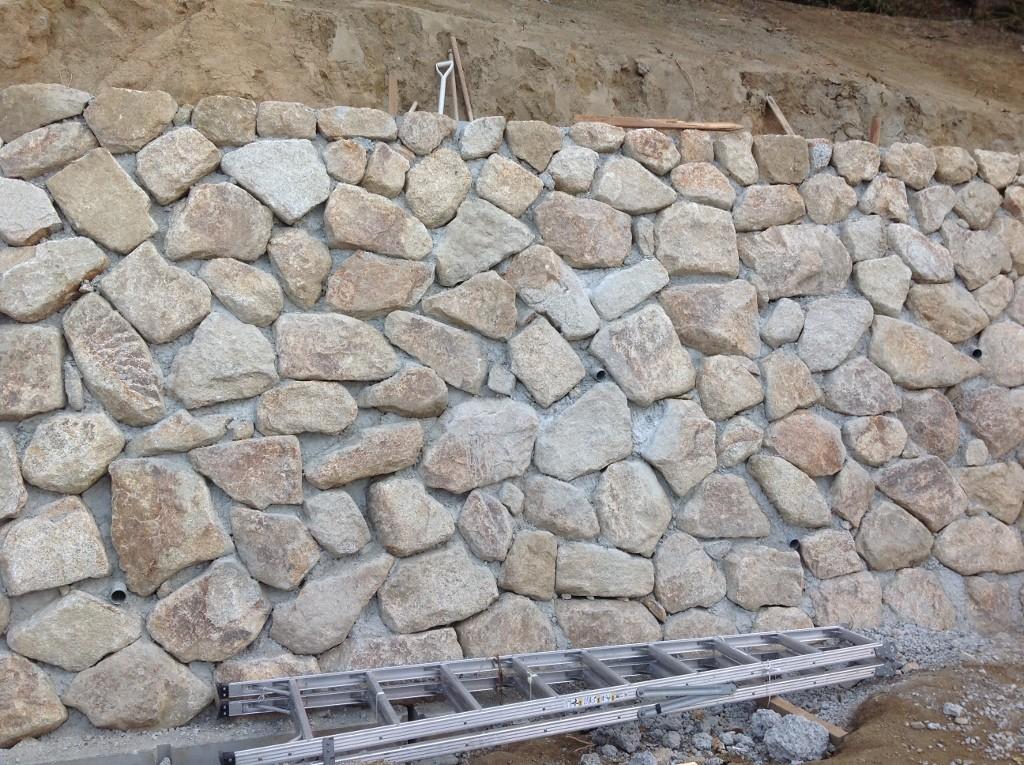 小豆島石(花崗岩) 野面